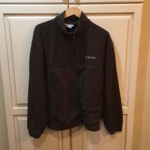 Xl brown Columbia fleece